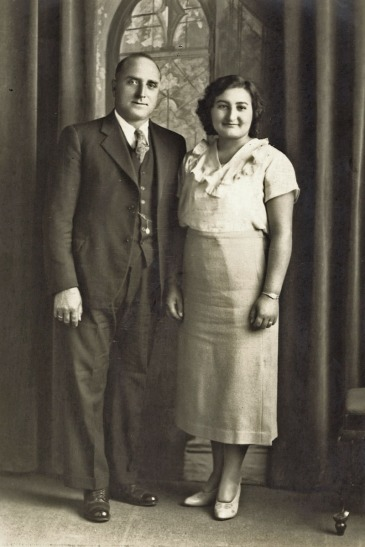 Basil Dal Colletto and Louise Giorgie - 1933