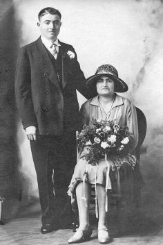 Francesco Belluomini and Rosie Giorgi - 1926
