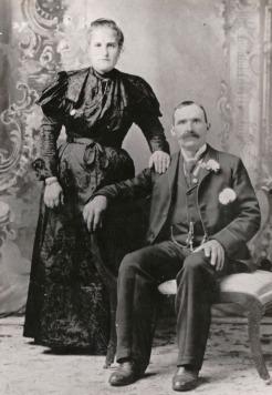 Giacomo Giorgi and Agnese Giancoli - 1896