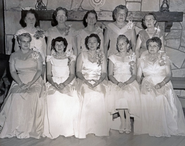Legion Auxiliary Officers 1957