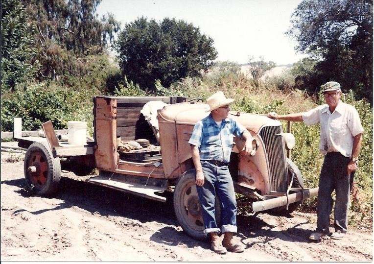 GuerdonDadOrchardTruck1981