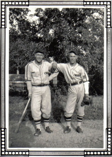 Norman Taeuffer and Bobby Harris circa 1941