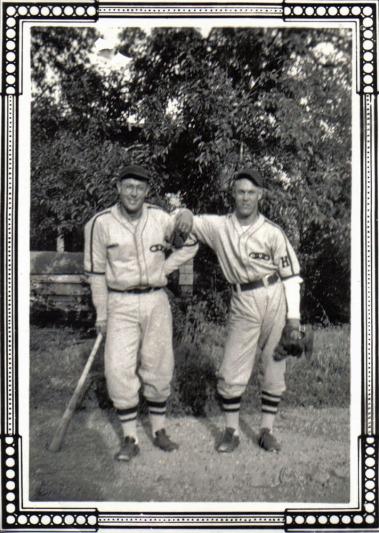 Norman Taeuffer and Bobby Harris circa 1941