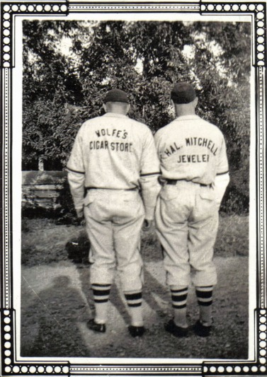 Norman Taeuffer and Bobby Harris circa 1941b