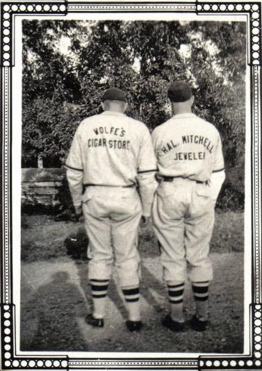 Norman Taeuffer and Bobby Harris circa 1941b