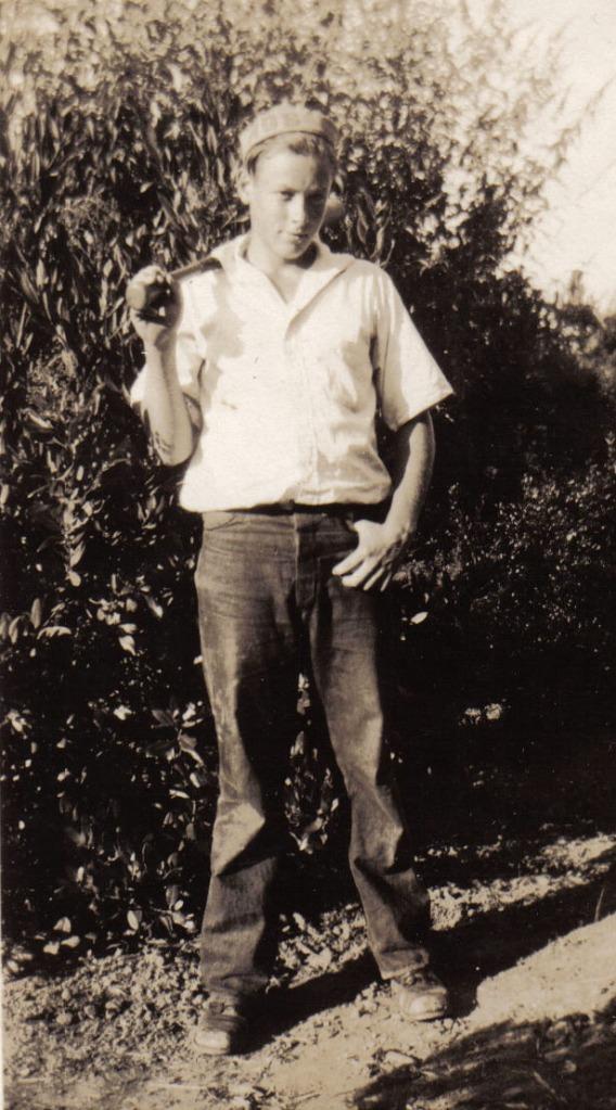 Norman Taeuffer circa 1930