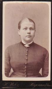 Sophie Taeuffer 1863 - 1892
