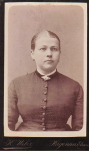 Sophie Taeuffer 1863 - 1892