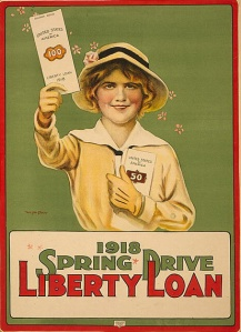 3 Liberty Loan poster