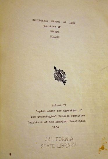 1852 CA Census - AC Congleton Nevada County 01