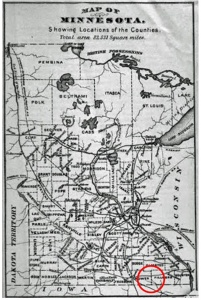 Mn Map 1876 - sized