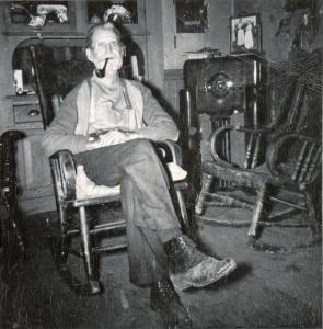 Grampa Wilson rocking