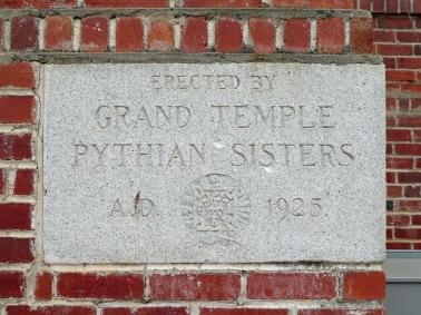 Pythian Home Cornerstone