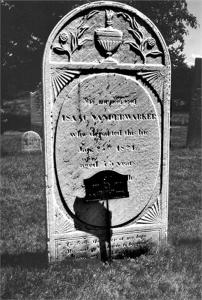 1824 - Isaac Vanderwarker tombstone 800h