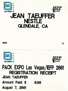 PackExpo Badge