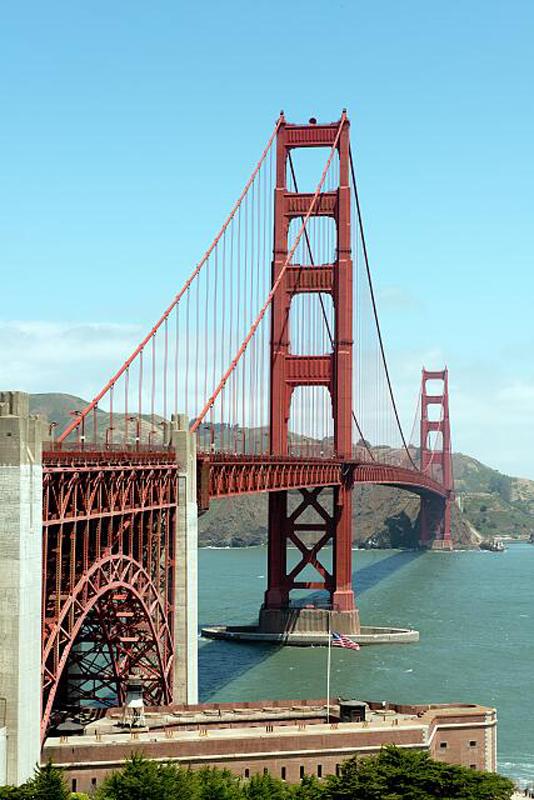 Golden Gate Bridge LOC 800h